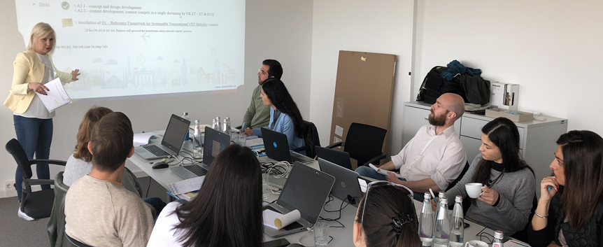 Fourth Transnational Meeting in Germany  - SatyMobil
